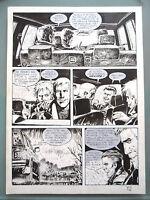 (prl) Dampyr Giovanni Bruzzo Tavola Originale Original Comic Art Dessin Dibujo -  - ebay.it