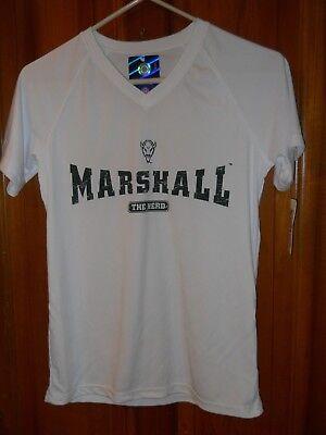 NWT Womens XS Marshall University Thundering Herd Polyester SS Tech Shirt $25
