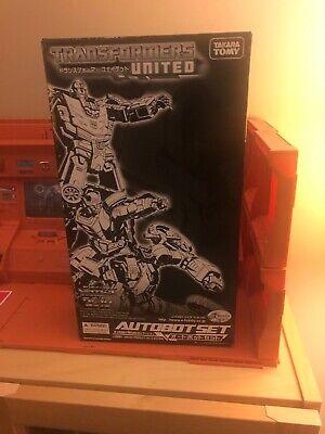 Transformers United e-Hobby Autobot Set Rodimus Kup Scrap Heap MISB