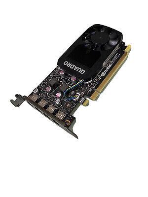 Nvidia Quadro P1000 Graphics Card - 4GB GDDR5 PCIe 3.0 x16