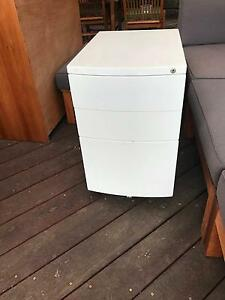 3 drawer filing cabinet - white Burwood East Whitehorse Area Preview