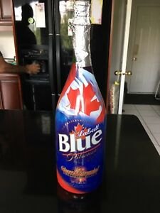 Anniversary Labatt Blue Beer Bottle (empty)