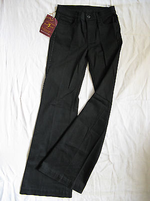 7 SEVEN for all MANkiND Damen Jeans Stretch W24/L32 slim fit normal waist flare  Seven For All Mankind Flare Jeans