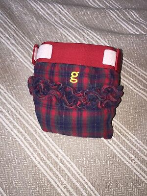 Gdiaper  Limited Edition Christmas Diaper cloth gpant cotton LG Glen Lassie for sale  Shipping to Canada