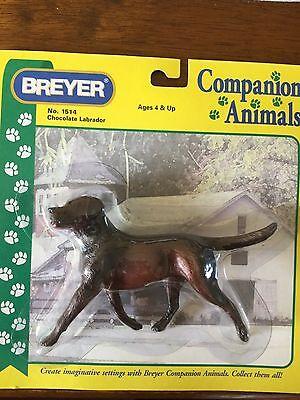Breyer Chocolate Labrador Companian Animals Dog #1514 NIB