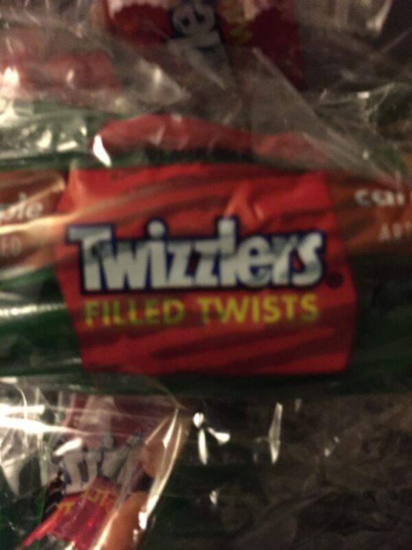 Twizzlers Caramel Apple Twists 10.29 oz Caramel Filled Green Apple 🍏 Licorice