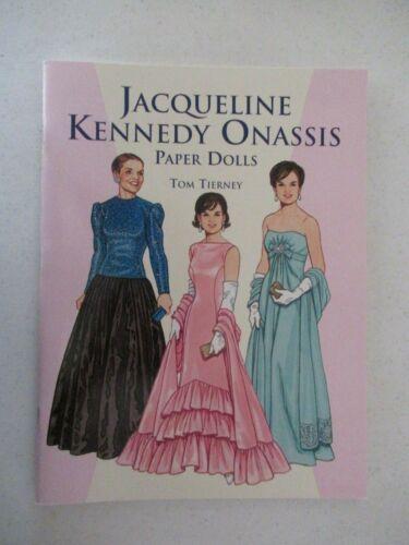 1999 JACQUELINE KENNEDY ONASSIS PAPER DOLLS TOM TIERNEY NEW