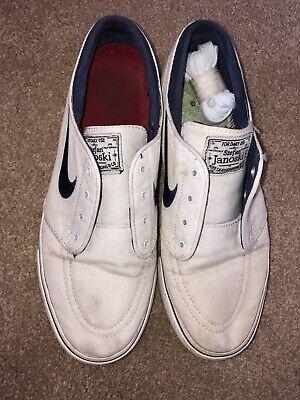 Nike Stefan Janoski White Size 7