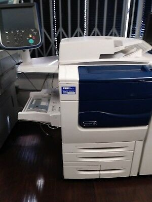 Xerox Dc550 Color Printer Copier Scanner Mfp Low Meter