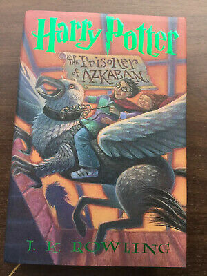 Harry Potter and the Prisoner Of Azkaban Book 3. Hardcover W/DJ. Rowling  Magic2