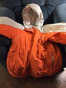 Women orange Columbia jacket