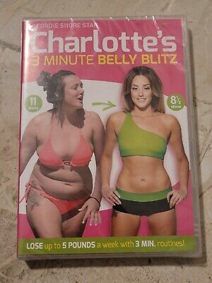 Charlotte Crosby's 3 Minute Belly Blitz (Fitness DVD) **NEW & SEALED**