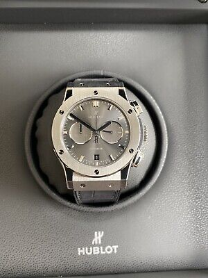 Hublot Classic Fusion Cronograph 42mm Titanium Racing Grey *Brand New With Tags*