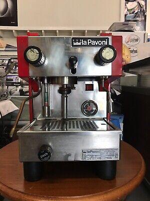 La Pavoni Pub -s Single Group Espresso Machine 120volt Reconditioned
