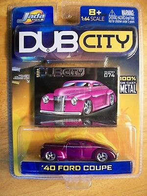 Contemporary manufacture 164 2004 jada toys dub city 074 mettalic purple 40 ford 2 fandeluxe Gallery