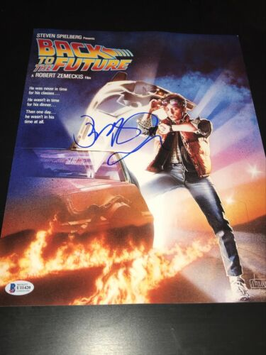 ROBERT ZEMECKIS SIGNED AUTOGRAPH 11x14 PHOTO BACK TO THE FUTURE FOX BECKETT BAS