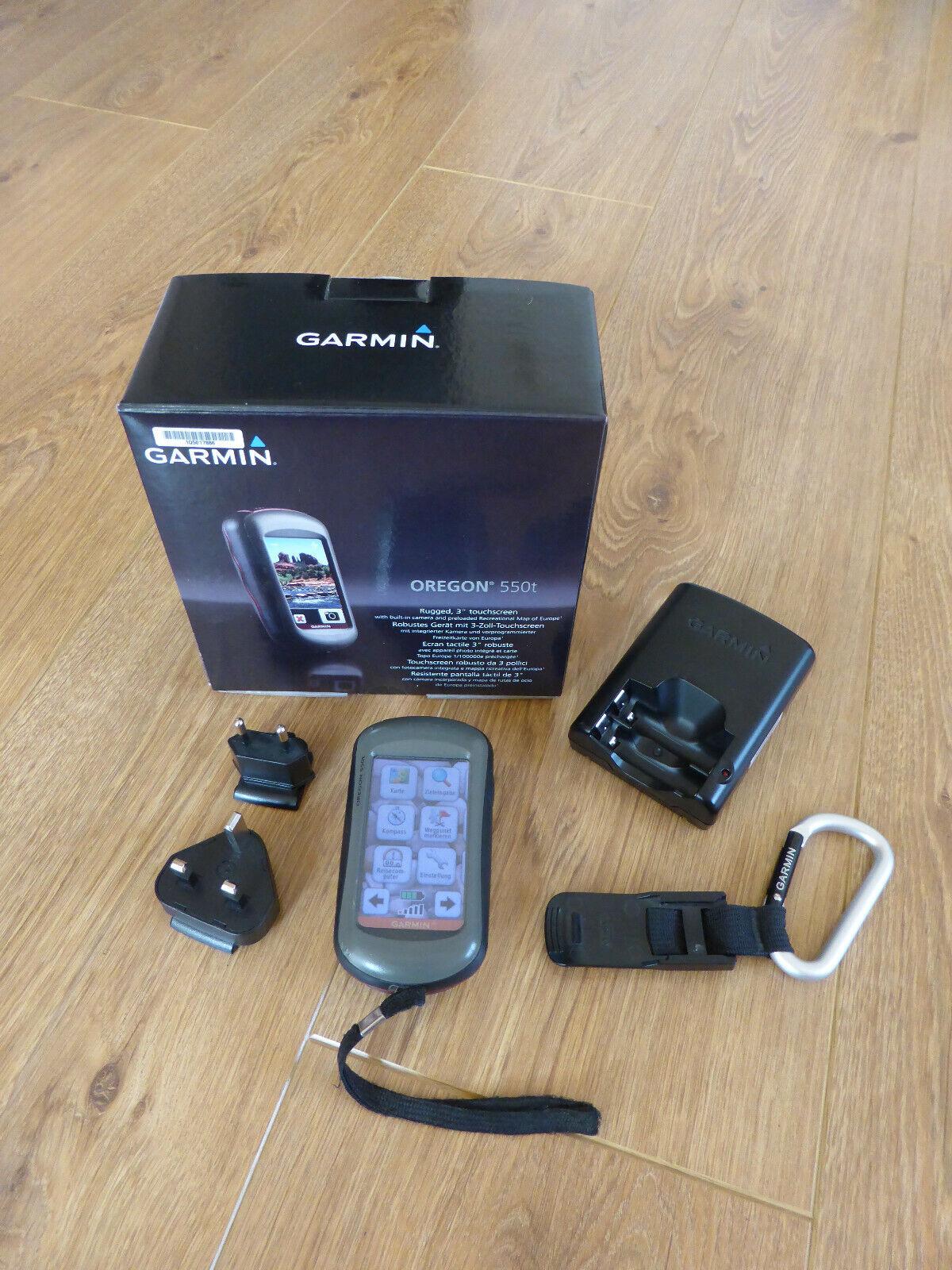Garmin Oregon 550t GPS Gerät