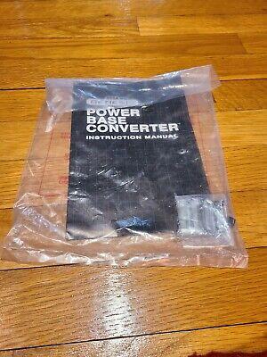 Sega Genesis Power Base Converter (Instruction Manual) Master System (Brand New)