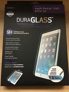 "BNIB DuraGlass Screen Protector for iPad Air/Pro 9.7""!"