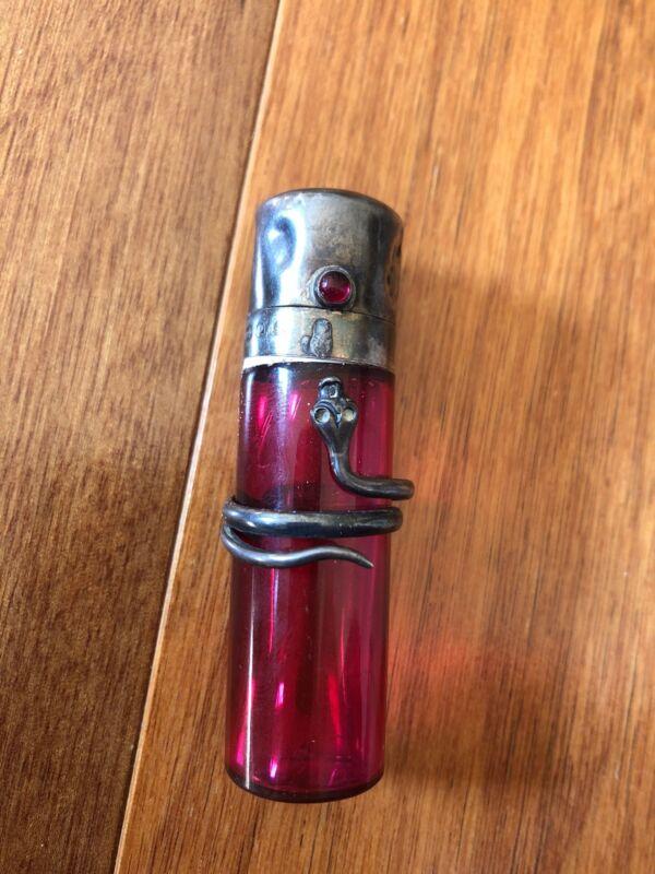 Snake Perfume Bottle birmingham 1898?