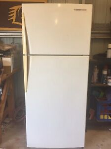 Westinghouse white fridge