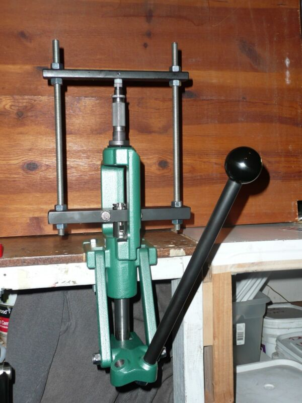 """BTSniper bullet swage Auto Eject System for reloading press with 1"""" ram"""