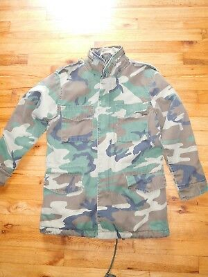 Boys Rothco Ultra Force Field Jacket Cold Weather Size Medium Air Force/CAP