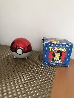 1999 Pokemon Burger King Limited Edition 23K Gold-Plated Charizard Trading Card
