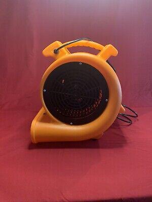 Contair Storm 12 Hp Air Mover Carpet Dryer Floor Blower Fan Orange