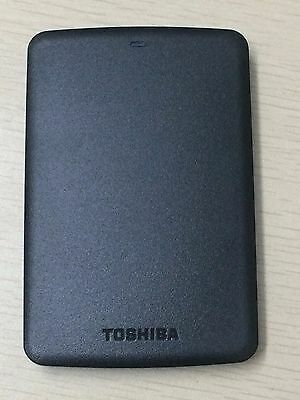 "1TB Portable External Hard Disk Drive USB3.0  2.5"" Toshiba Canvio Basics Black"