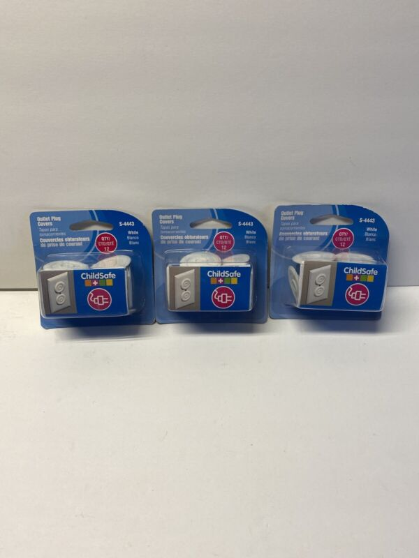 ChildSafe Outlet Plug Covers (36 Pack) Child Proof Electrical Protectors NEW!