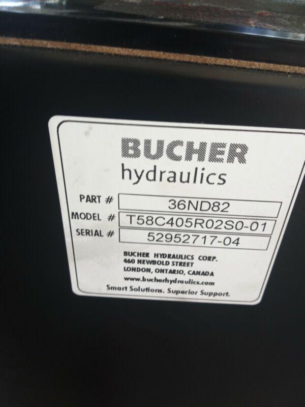 Bucher Hydraulic Power Unit 36nd82