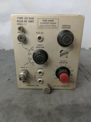 Tektronix Plug-in Unit Type 5354h