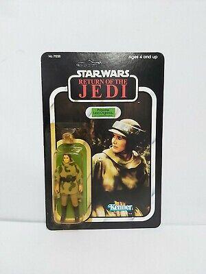 Star Wars Vintage Princess Leia Organa Poncho Moc/Carded Figure ROTJ