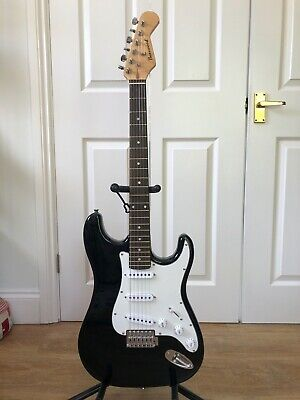 Stratocaster style electric guitar - refurbished and fully setup (#16)