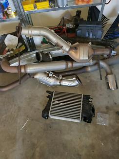 Wrx intercooler & exhaust