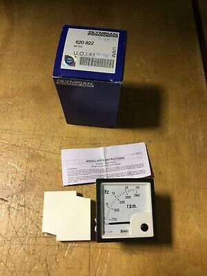 Olympian Frequency Meter 620-822 Crompton E243-41s-g-rn-aj-zd