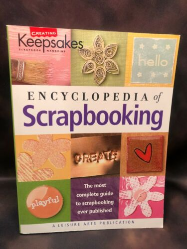 Creating Keepsakes Scrapbook Magazine Book Encyclopedia of Scrapbooking