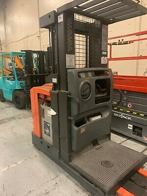 Toyota 3000 Lbs Lift Order Picker With Charger And Battery