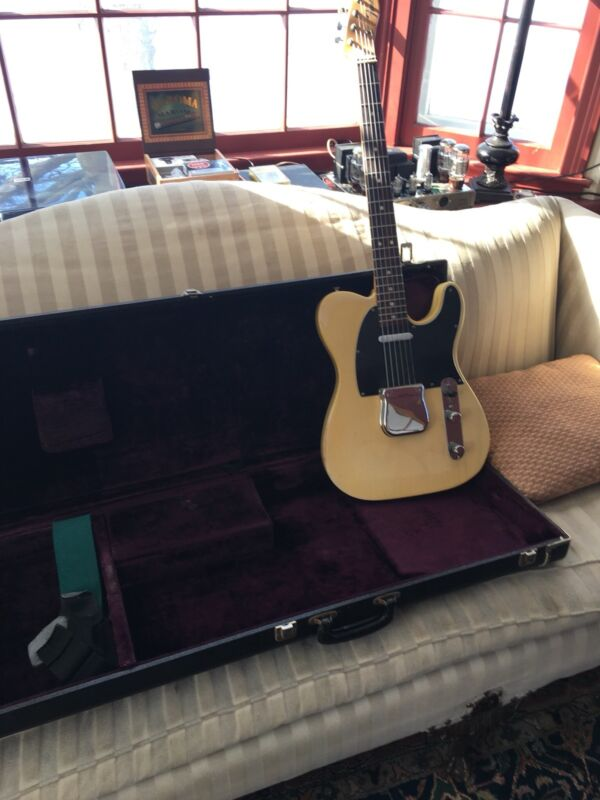 1972 Fender Telecaster see thru blonde ash  w/ rosewood neck closeted since 1981