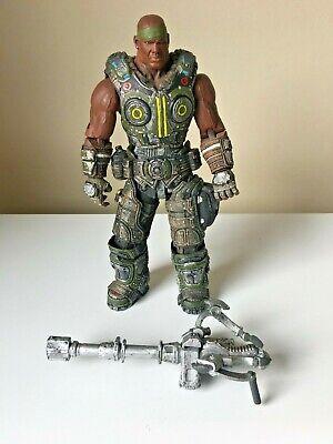 NECA Gears Of War 3 Series 2 Augustus Cole Action Figure  Gears Of War Figure