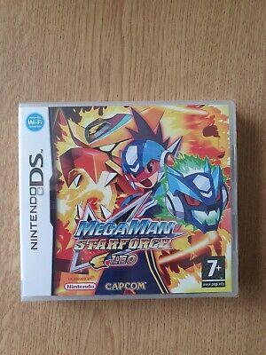 Megaman Starforce Leo PAL UK sealed Nintendo ds
