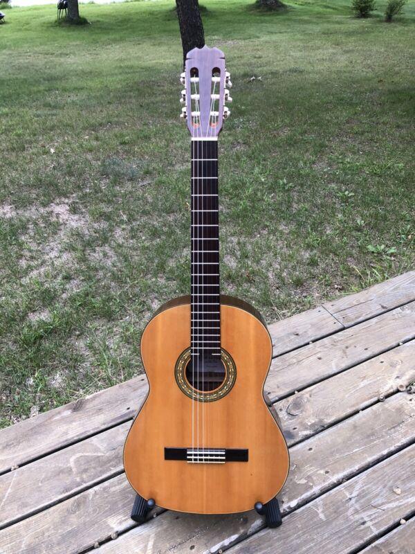 CG Conn Ltd Classical 70s Guitar C-9 Japan 2 Labels