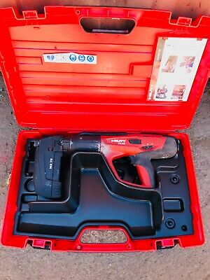 Hilti Dx-460 Kit Mx72 Powder Actuated Concrete Nail Gun