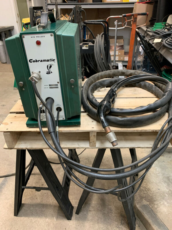 Cobramatic MK-3A Portable MIG Welder Wire Feeder W/Gun