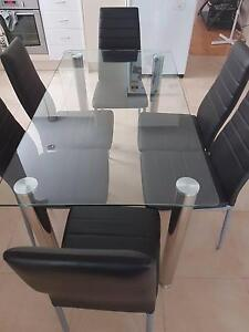 Dining Table and Chairs 7 piece set Campsie Canterbury Area Preview