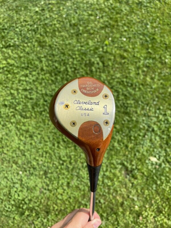 Cleveland Classic USA - Ben Crenshaw Persimmon 1 Wood / Driver (Oil Hardened)