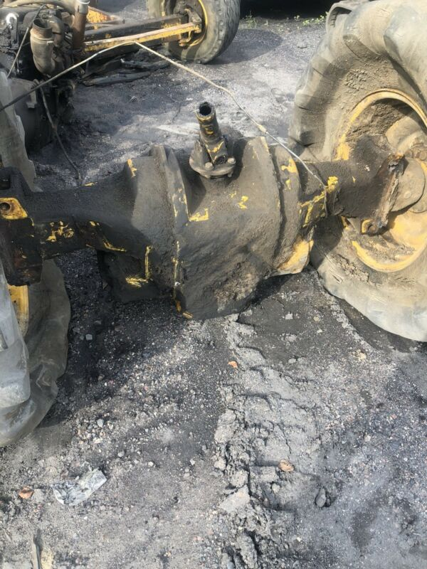 Jcb Backhoe Complete Rear Axel