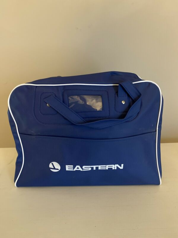 Vintage Eastern Airlines Vinyl Travel Bag
