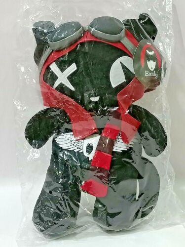 Emily the Strange Pilot Kitty Plush Doll Toy L